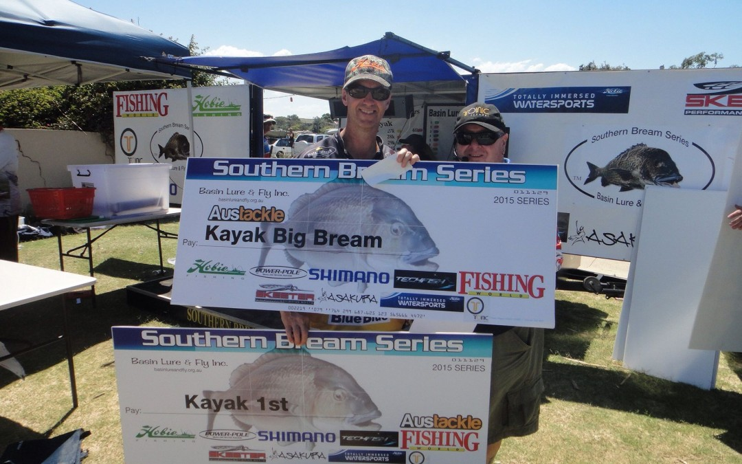 Austackle on board with Southern Bream Series